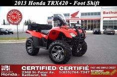 2013 Honda TRX420