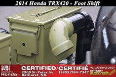 2014 Honda TRX420
