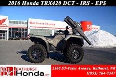 Honda TRX420 DCT IRS EPS 2016