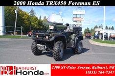 2000 Honda TRX450ES Foreman