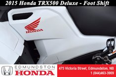 2015 Honda TRX500 Deluxe