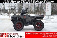 2018 Honda TRX500 Deluxe DCT