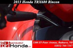 Honda TRX680 Rincon  2013