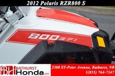 2012 Polaris RZR 800 S