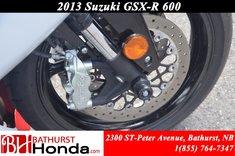 2013 Suzuki GSX-R 600