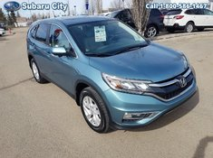 2016 Honda CR-V EX-L,AWD,LEATHER,SUNROOF,PW,PL,TILT,CRUISE, EXCELLANT CONDITION, LOCAL TRADE,CLEAN CARPROOF!!!!