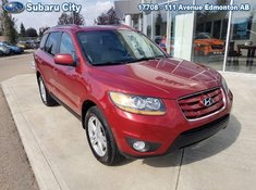 2011 Hyundai Santa Fe LIMITED,AWD,LEATHER,SUNROOF, AIR,TILT,CRUISE,PW,PL,NEW TIRES,LOCAL TRADE!!!