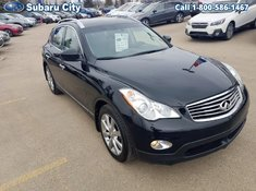 2013 Infiniti EX37 Journey,AWD,LEATHER,SUNROOF,AIR,TILT,CRUISE,PW,PL,WINTER TIRES,LOCAL TRADE,!!!!