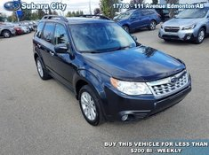 2011 Subaru Forester 2.5 TOURING, SUNROOF,AWD,AIR,TILT,CRUISE,PW,PL, VERY CLEAN, LOCAL TRADE!!!!