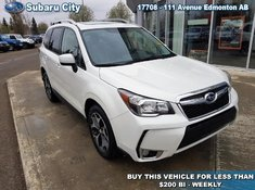 2016 Subaru Forester 2.0XT TOURING,TURBO,SUNROOF,ONE OWNER,LOCAL TRADE,LOW KILOMETER, MUST SEE!!!!