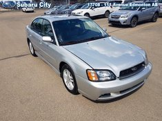 2003 Subaru Legacy GT,SUNROOF,LEATHER,AWD,ALUMINUM WHEELS, AIR,TILT,CRUISE,PW,PL, LOOK AT THE KMS!!!!!