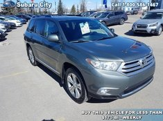 2012 Toyota Highlander BASE,AWD,LEATHER,SUNROOF,AIR,TILT,CRUISE,PW,PL,LOCAL TRADE,!!!!