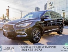 2017 Infiniti QX60 Technology Package No Accident Claim One BC Owner