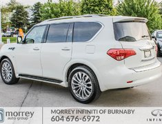 2016 Infiniti QX80 Technology Package Like New! No Accident Claim!
