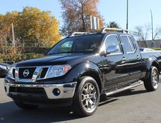 2014 Nissan Frontier SL LEATHER NAVIGATION LONGBOX
