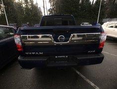2018 Nissan Titan Crew Cab Platinum 4X4 Two-Tone