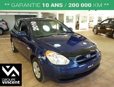 Hyundai Accent L **COUSSINS GONFLABLES ** 2010