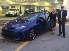 Merci à toute l'équipe Vimont Toyota Laval!!
