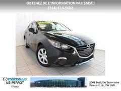 Mazda Mazda3 GX-SKY JAMAIS ACCIDENTÉ 2014