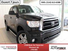 2013 Toyota Tundra 5.7 SR5 DOUBLECAB, 4X4, CUIR, CAM RECUL, BLUETOOTH