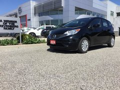 2016 Nissan Versa Note Hatchback 1.6 SV CVT