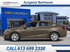 2018 Chevrolet Cruze LT  - Certified - Bluetooth - $125.11 B/W