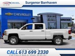 2018 Chevrolet Silverado 2500HD Work Truck  -  Power Windows - $297.99 B/W