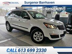 2017 Chevrolet Traverse LS  - Touch Screen -  SiriusXM - $163.37 B/W