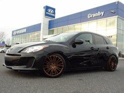 Mazda Mazda3 SPORT GX MAGS AC GROUPE ÉLECTRIQUE * TRÈS BEAU LOOK * BALANCE DE GARANTIE MAZDA 2013