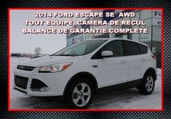 2014 Ford Escape SE, MEILLEUR PRIX SUR INTERNET AWD, ECOBOOST