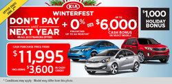 Kia's Winterfest Is On Now!