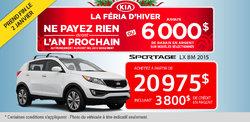 Achetez le Kia Sportage LX BM 2015 à 20 975$