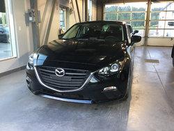 Mazda 3 noir 2016 époustouflante