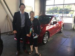 Mazda 3 rouge 2016