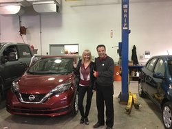 Nissan Versa Note sv 2017 rouge