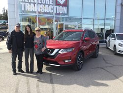 Nissan Rogue SL rouge 2017