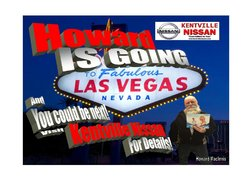 Howard is going to Vegas!