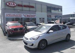 Hyundai Accent 2012 GL, AIR CLIM, REGULATEUR VITESSE AIR CLIM, REGULATEUR DE VITESSE,