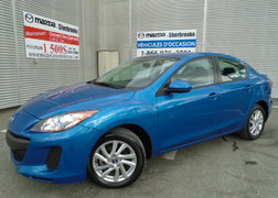 Mazda Mazda3 2013 GS SKYACTIV  13000KM  AUTOMATIQUE