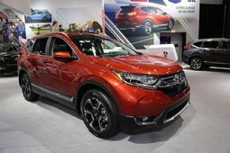 The 2017 Honda CR-V showcased at the Montreal Auto Show - 1