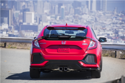 2018 Honda Civic Hatchback: bringing cargo space to the compact car in Montreal, Quebec - 5