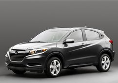 The 2016 Honda HR-V officially unveiled in Los Angeles - 1