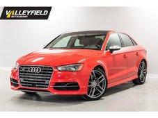 Audi S3 2.0T Technik WOW! Impeccable, venez voir! 2015