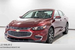 Chevrolet MALIBU LT 1.5L TURBO TRUE NORTH EDITION, CUIR, TOIT OUVRANT 2016