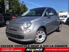 2016 Fiat 500 POP 52$/SEM VEHICULE NEUF!!! AUTOMATIQUE
