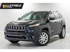 2015 Jeep Cherokee Limited Véhicule tout équipé!