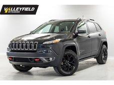 2016 Jeep Cherokee Trailhawk Cuir, toit pano, AWD, GPS!