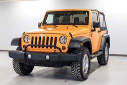 2012 Jeep Wrangler Sport NOUVEAU EN INVENTAIRE!