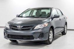 Toyota Corolla CE FIABLE ET ÉCONOMIQUE! 2012