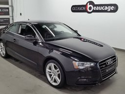 Audi A5 2013 2.0T/ QUATTRO/ TOIT/ CUIR/ CAMERA DE RECUL/ DEMARRAGE SANS CLE/ SIEGES CHAUFFANTS/ VITRES TEINTEES/